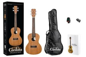 CORDOBA UKULELE PACK CONCERT LA PLAYA UP100